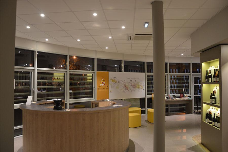 Maison Des Vins De La Cote Chalonnaise French Caveau Collectif Caveau De Degustation In Chalon Sur Saone Bourgogne Wines