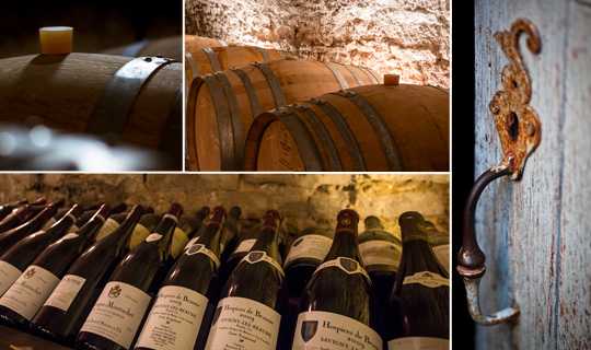In a few clicks, organize your cellar © BIVB / IBANEZ A.
