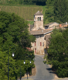 The Village of Bussières in the wine-growing region of the Mâconnais. BIVB / ARM