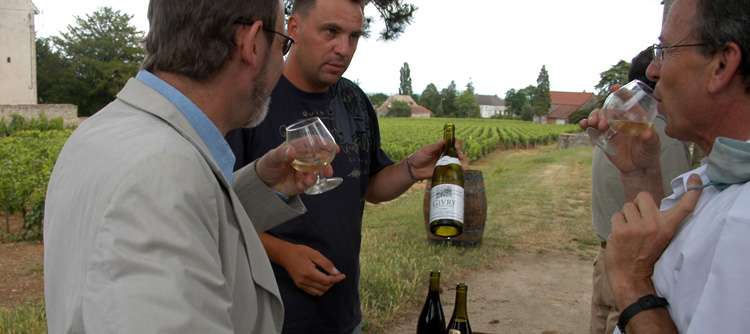 © BIVB / MONNIER H Wine tastings in traditional wineries