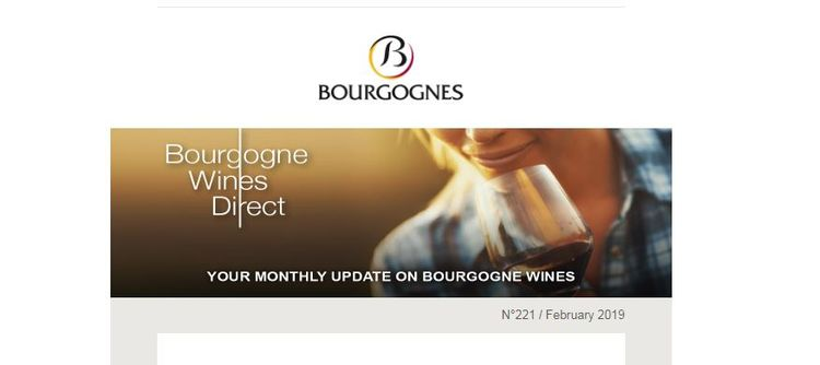 Your monthly update on Bourgogne wines