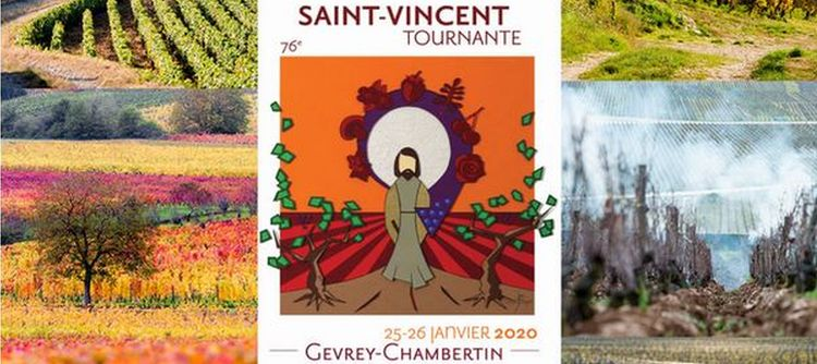 The Gevrey-Chambertin Saint-Vincent poster will figure in thoses exhibitions