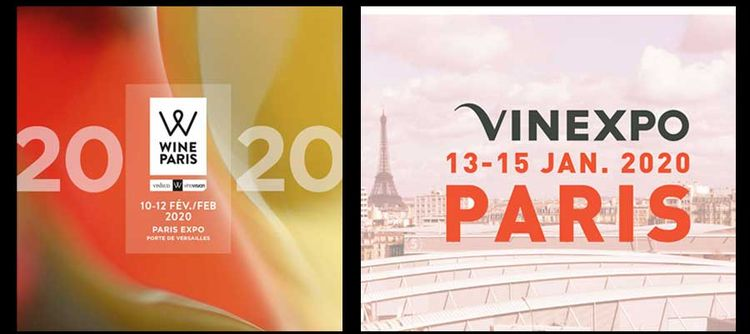 Vinexpo and Wine Paris join forces in 2020