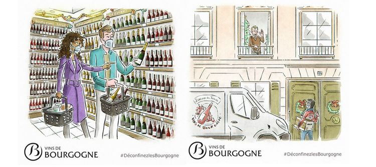 For the holidays, help us release Bourgogne wines from their lockdown !