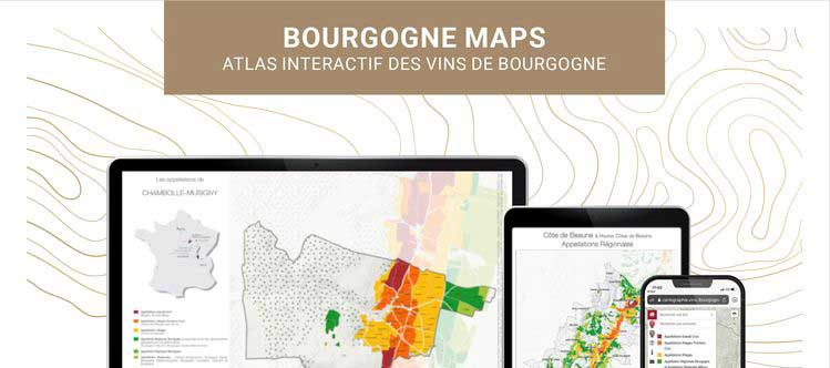 Bourgogne AOCs all mapped out!