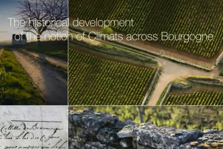 The historical development of the notion of Climats across Bourgogne