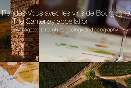 The Santenay appellation explained through its geography and geology