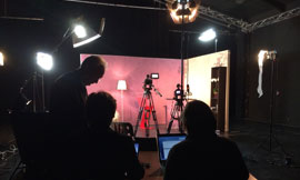 A TV studio for Bourgogne wines ©BIVB/DR