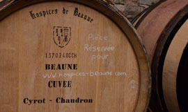 Become a part of the legend and bid on some wine at the Hospices de Beaune Wine Auction ©MONOGRAMME