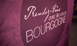 "Don't miss your ""Rendezvous with Bourgogne Wines"", the international wine-themed web broadcast ©BIVB/A. IBANEZ"