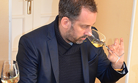 Emmanuel Delmas the author of http://www.sommelier-vins.com/ ©BIVB/DR