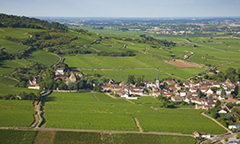 Santenay is at the South end of the Côte de Beaune ©BIVB/Aurélien Ibanez